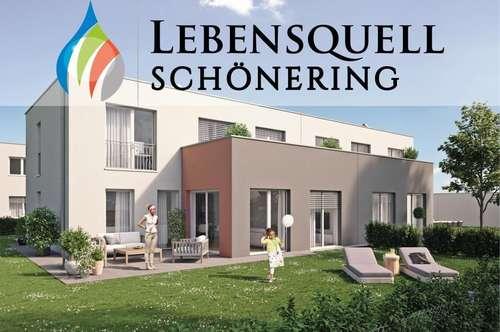 LEBENSQUELL SCHÖNERING - der feine, grüne Unterschied! Doppelhaus TOP 8