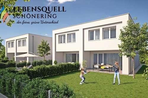 LEBENSQUELL SCHÖNERING - der feine, grüne Unterschied - Doppelhaus TOP 1
