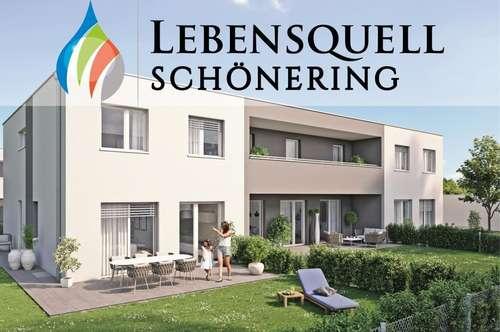 LEBENSQUELL SCHÖNERING - der feine, grüne Unterschied - Reihenhaus TOP 3