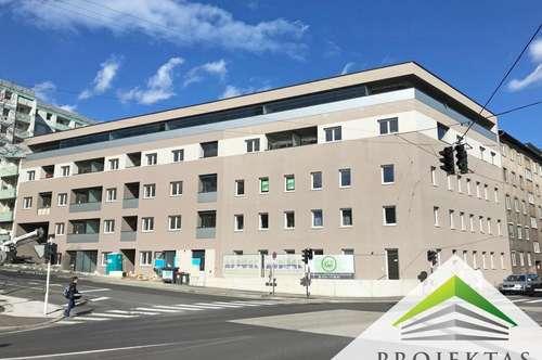 Kuwa 39 | ERSTBEZUG-PENTHOUSE am Fuße des Froschbergs - Traumhafte 3 Zimmerwohnung mit Küche & großer Loggia | 360° Rundgang online!