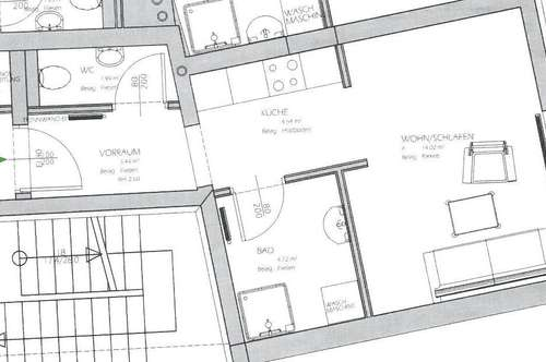 Lichtenwörth - neu sanierte Mietwohnung in Hauptplatz Nähe zu vermieten