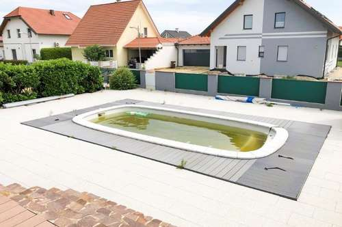 Bungalow mit Pool in Leitzersdorf/Nahe Stockerau