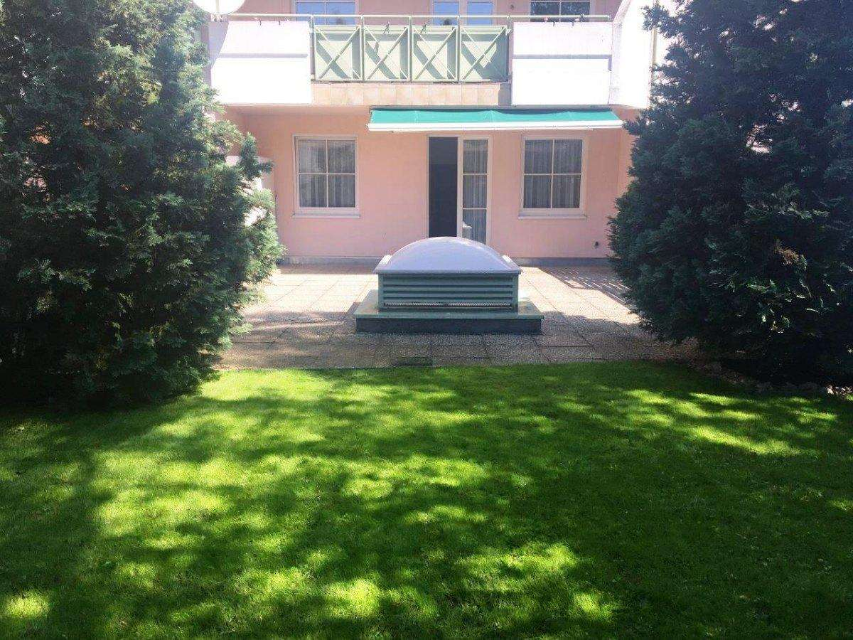Single- od. Pärchenwohnung mit Garten