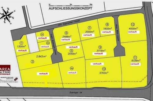 RESERVIERT Wiener Neustadt/Autobahnabfahrt A2 - Betriebsgrundstücke Gewerbepark Ost