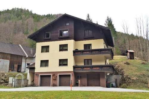 Naturnah - Mehrfamilienhaus in Schwarzau im Gebirge