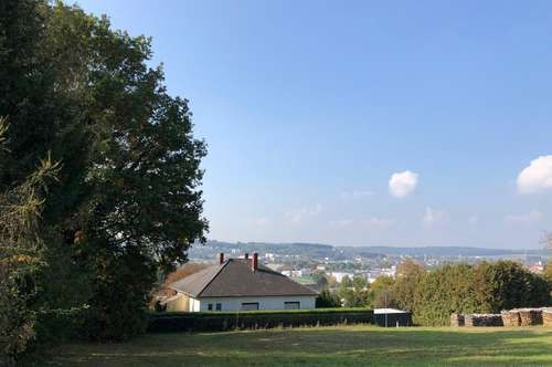 +Wunderschönes Grundstück in zentraler Oberwarter Lage mit Panoramablick!+