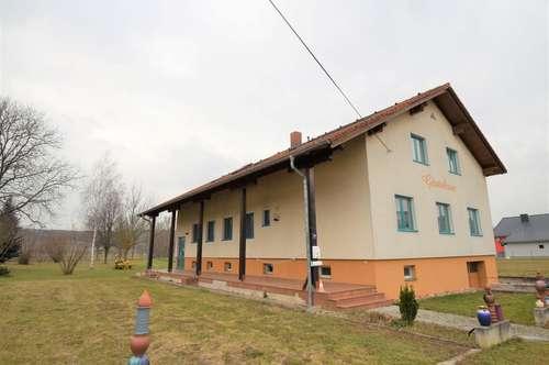 + Gepflegtes Ein-/Mehrfamilienhaus in absoluter, traumhafter Grünruhelage direkt neben Oberpullendorf zu verkaufen!+