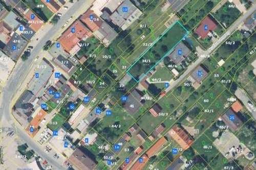 +Grundstück in zentraler Ruhelage, direkt in Oberpullendorf zu verkaufen!!+