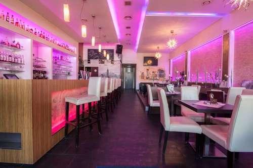 +ABLÖSE nach Vereinbarung!+ Phänomenale Designer BAR / Café in sehr guter Lage, mit Gastgarten und Parkplätzen in Oberpullendorf zu vermieten! +