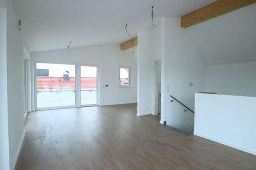 Erstbezug: 3-Zimmer-Maisonettewohnung mit XXL Dachterrasse