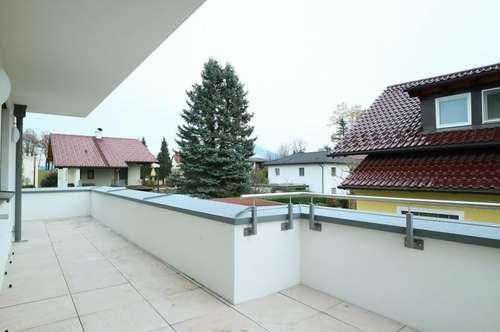 Erstbezug: 3-Zimmer-Terrassen-Wohnung in Altliefering
