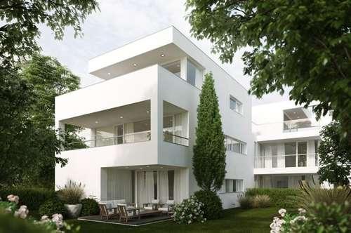 Architektonisch ansprechende Penthouse-Maisonette in Nonntal