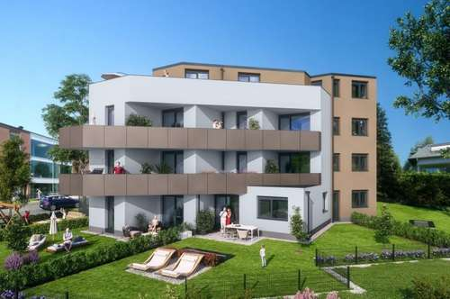Erstbezug: 2-Zimmer-Wohnung in Morzg!