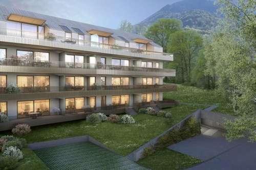 Parklage: 4-Zimmer-Neubauwohnung mit Blick auf die Salzburger Altstadt!