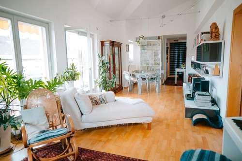 Außergewöhnliche Dachgeschoßwohnung in Villach-Lind
