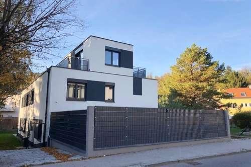 ERSTBEZUG HAUSHÄLFTE in Kierling! Garten+ Terrassen+ Autostellplatz