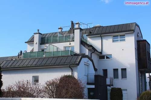 Familienmaisonette mit drei Terrassen und Tiefgaragenplatz