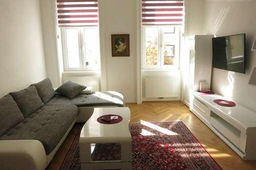 Modern möbliertes Ferienapartment in zentraler Ruhelage Nähe Mariahilferstraße