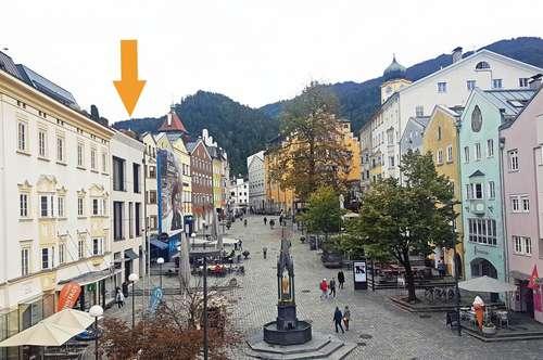 Exklusive Stadtwohnung mit Tiefgarage, Unterer Stadtplatz