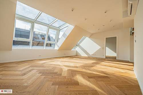NEU! ERSTBEZUG in 1080 Wien ! Luftwärmepumpe + Fußbodenheizung + Rollläden + Klimaanlage + BUSSYSTEM ! Dachgeschoss-Wohnung mit WINTERGARTEN sowie BALKON und DACHTERRASSE !