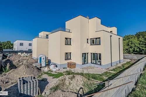 NEU! ++ Doppelhaushälfte, ca. 170 m² WNFL + TERRASSE + GARTEN, 2 PKW Stellplätze, Schlüsselfertig, 6 Zimmer, Beziehbar ab Oktober 2019, Nähe Gymnasium/Hauptplatz, Groß Enzersdorf ++