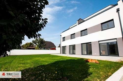 ++ NEU in Groß-Enzersdorf ++Familien-Gartenwohnung++ ERSTBEZUG ++ 4-Zimmer-Neubauwohnung mit Garten (ca. 213 m2) + Terrasse (ca. 44 m2) nahe Nationalpark Donau-Auen-Lobau ++ EIN GEFÜHL WIE IN EINER WOHNUNG, BEQUEM WIE IN EINEM HAUS ++