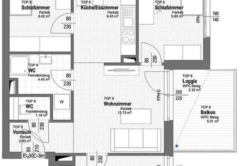 NEU! ++ ERSTBEZUG ++ NÄHE U1 ++ 41 Exklusive 2-4 Zimmer Eigentums-Wohnungen mit Freiflächen ++ 17 PKW STELLPLÄTZE ++ RUHIGE LAGE ++ NEUBAU 2018/2019 ++ Beziehbar ab Herbst 2019 ++ 1210 Wien ++ TOP 1/8
