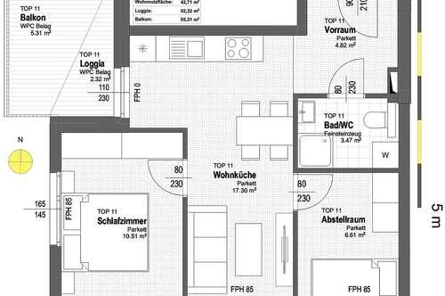 NEU! ++ ERSTBEZUG ++ NÄHE U1 ++ 41 Exklusive 2-4 Zimmer Eigentums-Wohnungen mit Freiflächen ++ 17 PKW STELLPLÄTZE ++ RUHIGE LAGE ++ NEUBAU 2018/2019 ++ Beziehbar ab Herbst 2019 ++ 1210 Wien ++ TOP 1/11