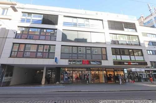 Vermietetes Geschäftslokal in der Linzer Hauptstrasse