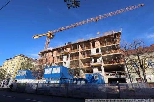 """Neubauprojekt """"Anzengruberstraße"""" / Maisonettenwohnung in zentraler Lage von Linz, Top 034"""