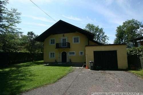 Wohnhaus mit Bauplatzreserve am Attersee
