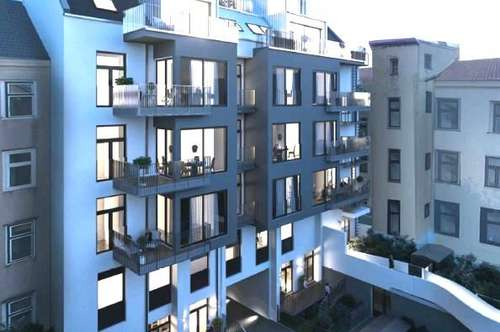 ERSTBEZUG! Großzügige und topmoderne 3-Zimmer DG-Maisonette mit Terrasse, Nähe Schlossquadrat