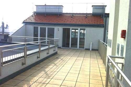 UNBEFRISTET! DG-Maisonette mit großer Terrasse und Galerie, Nähe Mariahilfer Straße