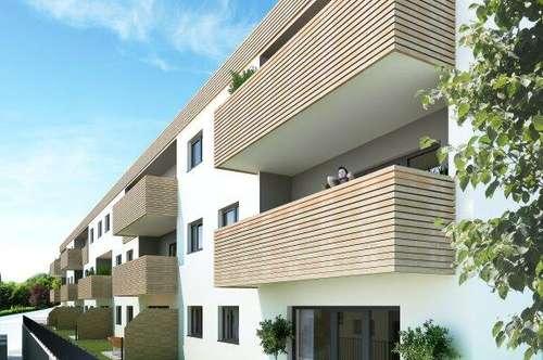 PROVISIONSFREI! Schöne 3-Zimmer Wohnung mit Terrasse, Loggia und Stellplatz - Erstbezug!