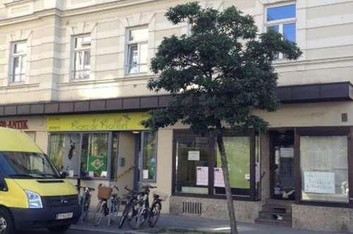 EG Geschäftslokal nahe Mirabellplatz mit 2 Schaufensterflächen