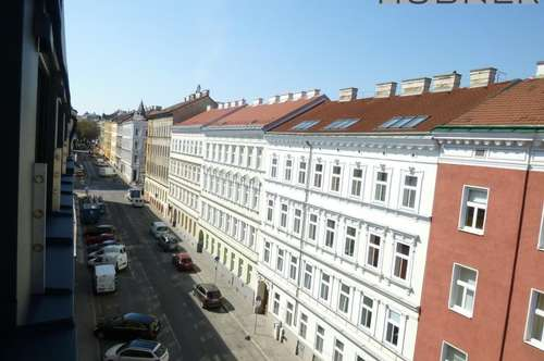 Traumblick von der Loggia! 2- Zimmer Dachgeschosswohnung!