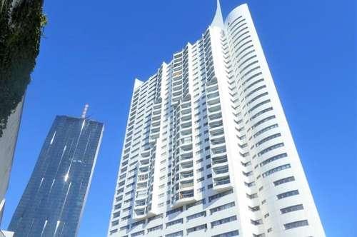 27. OG - WEITBLICK!!! Großzügig angelegte 2-Zimmer-Wohnung mit 7m² Loggia im HOCHHAUS!!!