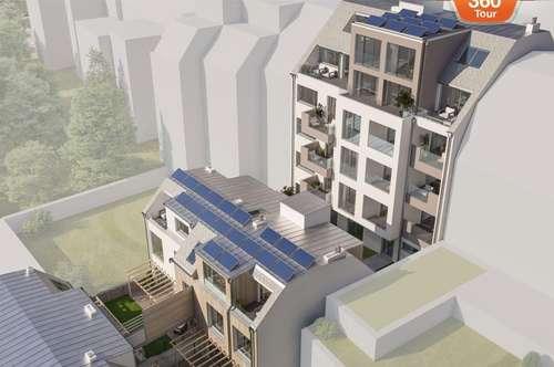 Erstbezug! Top Maisonette - Wohnung mit großem Garten! Provisionsfrei!