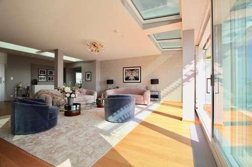 Penthouse De Luxe mit 3 Terrassen und Parkblick