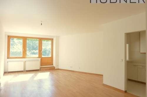 UNBEFRISTET: Großzügige 1-Zimmer-Wohnung mit SÜDTERRASSE