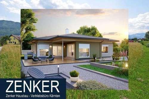 Grundstück mit ZENKER Bungalow 140