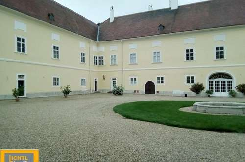 Schloßwohnung 2 Zimmer & Gartenbenützung- Miete inklusive Heizung !