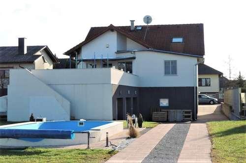Geräumiges Stockhaus - tolle Ausstattung - Garage, Vollkeller, Sauna, Pool, großer Garten in Ruhelage