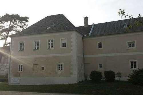 Wohnen im Obergeschoß des Torturms Schloss Rohrau