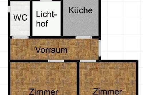 Großzügige 2 Zimmer Altbauwohnung in der Nähe der TU!