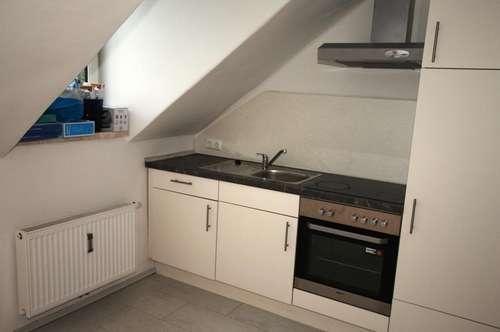 1 Zimmer Mietwohnung Küche möbliert Miete inkl BK HK und WW