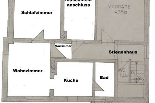 2-Zimmer Wohnung in Steyregg