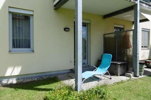 Sonnige Wohnung mit kleinem Garten und Tiefgarage nächst ORF
