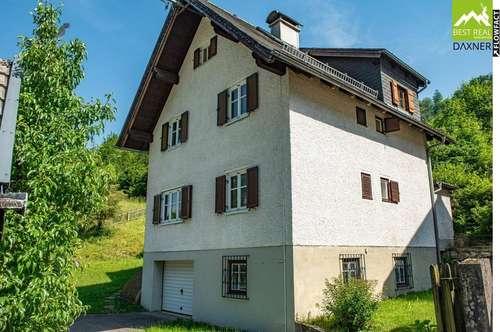 Gemütliches Einfamilienhaus in Ebensee am Traunsee