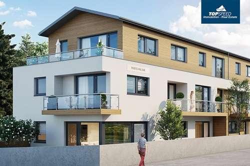 """56,25m² Gartenwohnung - Bauvorhaben """"Neualm"""""""